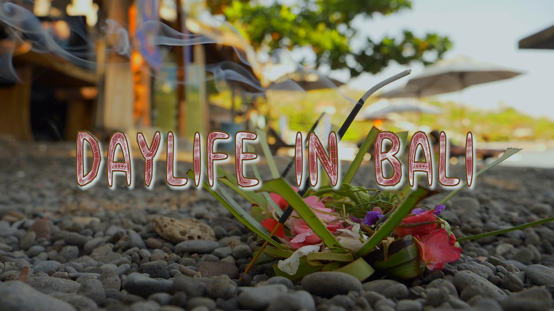 Daylife in Bali
